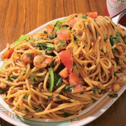 喰らえ!ワイルド飯「スパゲッティ&カレー ジャポネ」