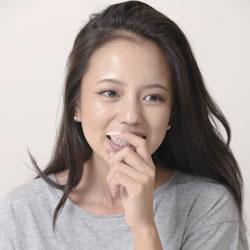NAOMI ナマ搾りインタビュー100%H果汁」Vol.2 「やってみたいこと」を聞かれて「3P!」って(笑)