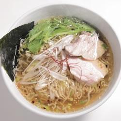 【眼福ラーメン】 東京・水天宮「麺画廊 英(HANABUSA)」