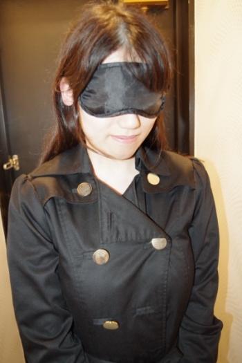 ふ~ぞく探偵ハラ・ショーが行く 報告書No.153 五反田・ホテヘル コートの下は全裸「23歳まゆゆ似美人OLが目隠しプレイで巨乳を揺らす